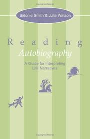 Cover of: Reading Autobiography | Sidonie Smith