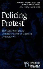 Cover of: Policing Protest |