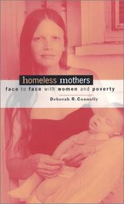 Cover of: Homeless mothers