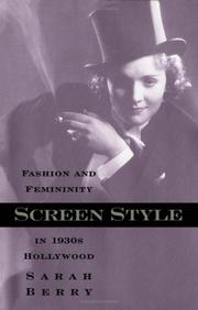 Cover of: Screen Style