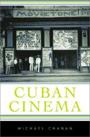 Cover of: Cuban cinema