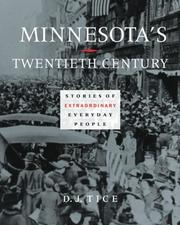 Cover of: Minnesota's twentieth century