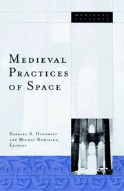 Cover of: Medieval practices of space