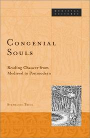 Congenial Souls by Stephanie Trigg