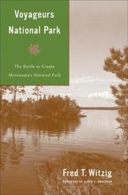 Cover of: Voyageurs National Park