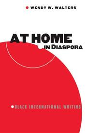 At home in diaspora by Wendy W. Walters