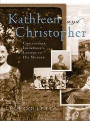 Cover of: Kathleen and Christopher