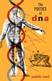 Cover of: The Poetics of DNA (Posthumanities) | Judith Roof