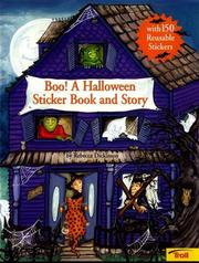 Cover of: Boo! a Halloween sticker book and story