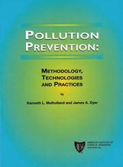 Cover of: Pollution Prevention | Kenneth L. Mulholland