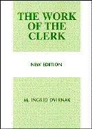 Cover of: The work of the clerk