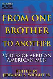 Cover of: From One Brother To Another, Volume 2