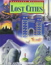 Cover of: The search for lost cities | Nicola Barber