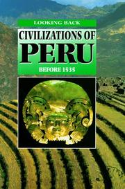 Cover of: Civilizations of Peru before 1535 | Hazel Martell