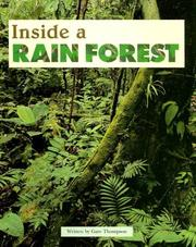 Cover of: Inside a rain forest