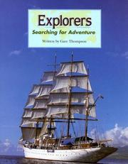 Cover of: Explorers: searching for adventure