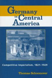 Cover of: Germany in Central America