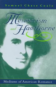 Cover of: Mesmerism and Hawthorne