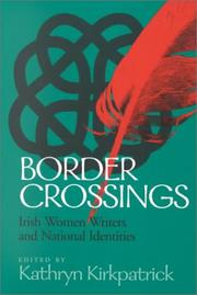 Cover of: Border Crossings | Kathryn Kirkpatrick