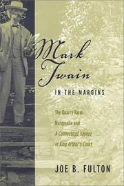 Cover of: Mark Twain in the margins