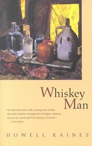 Cover of: Whiskey man | Howell Raines