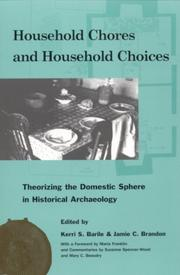 Cover of: Household Chores and Household Choices |