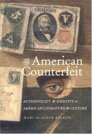 The American counterfeit by Mary McAleer Balkun