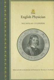 The English physician by Nicholas Culpeper