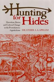 Cover of: Hunting for hides | Heather A. Lapham