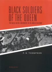 Cover of: Black soldiers of the queen