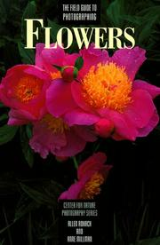 Cover of: The field guide to photographing flowers | Allen Rokach