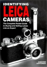Cover of: Identifying Leica cameras