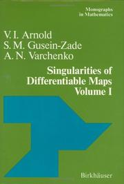 Cover of: Singularities of differentiable maps | ArnolК№d, V. I.