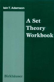 Cover of: A set theory workbook