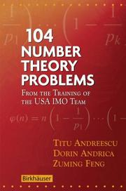 Cover of: 104 number theory problems