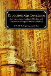 Cover of: Education and Capitalism