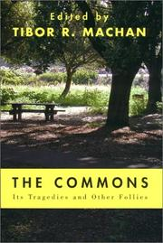 Cover of: The Commons | Tibor R. Machan