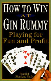 Cover of: How to Win at Gin Rummy | Pramod Shankar