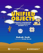 Cover of: Unified objects