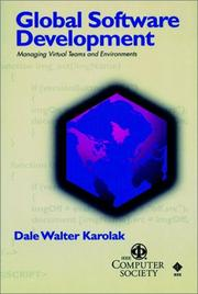 Cover of: Global software development