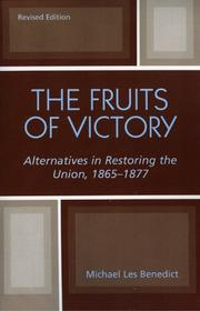 Cover of: The fruits of victory