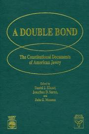 Cover of: A Double bond