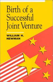 Cover of: Birth of a successful joint venture | William Herman Newman
