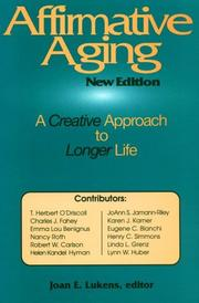 Cover of: Affirmative aging |