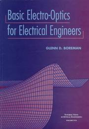 Cover of: Basic electro-optics for electrical engineers