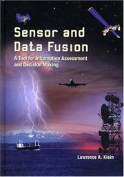 Cover of: Sensor and Data Fusion