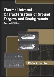 Cover of: Thermal infrared characterization of ground targets and backgrounds