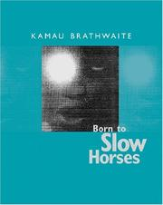 Cover of: Born to slow horses