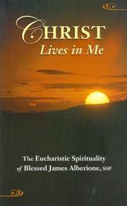 Cover of: Christ lives in me
