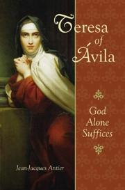 Cover of: St. Theresa of Avila | Jean Jacques Antier